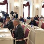 На сессии регионального парламента Валерий Лидин выразил благодарность депутатам за благотворительность