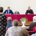 Рахим Азимов с рабочим визитом посетил Фаленский муниципальный округ