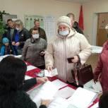 В первый день выборов высокая явка зафиксирована в Камешкирском и Тамалинском районах