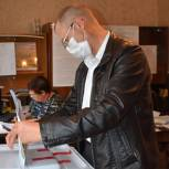 В Александро-Невском районе проголосовал кандидат на должность главы Просеченского поселения