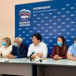 Избранный депутат Бадма Башанкаев встретился со СМИ и блогерами-наблюдателями
