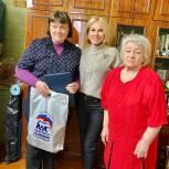 Активисты поздравили с юбилеем одну из старейших членов партии в Московском районе