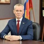 Сергей Усачёв: Благодарю всех, кто пришёл на избирательный участок