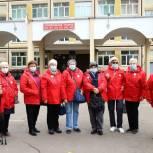 Участницы «Активного долголетия» проголосовали в городском округе Красногорск