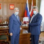 Иван Мошуров отмечен наградой «За верность медицинскому долгу»