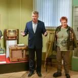 Николай Черкасов в рамках рабочей поездки в Балашиху посетил Краеведческий музей