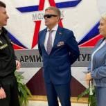 Владимир Вшивцев встретился с военнослужащими Можайска