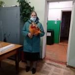 В Калужской области непогода не мешает избирателям голосовать
