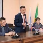 Активисты Верхнеуральского района провели встречу с представителями Молодежной палаты верхнеуральских поселений