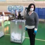 Мария Василькова: Процесс голосования идёт с соблюдением всех санитарных и избирательных прав