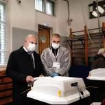 Тимофей Баженов проголосовал на выборах депутатов Госдумы VIII созыва