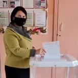 Ольга Чистякова: Голосую за поддержку наших семей и детей