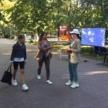 Единороссы Ленинского района провели выставку находок и экспонатов времен ВОВ