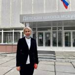 «Это ваша страна – обозначьте свой выбор»: Лариса Позднякова проголосовала на выборах в Госдуму