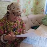 Пожилым людям и инвалидам обеспечена возможность голосования у себя дома