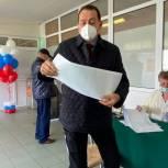 Сергей Керселян проголосовал в Королеве