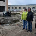 Строительство многоквартирного дома в Ивнянском районе идет под депутатским контролем