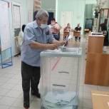 Представители сельскохозяйственной отрасли проголосовали на избирательном участке в Новошахтинске