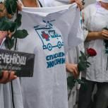 Пензенские молодогвардейцы поблагодарили медиков за их работу во время пандемии