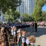 Новый учебный год в Волгоградской области начался для более чем 260 тысяч школьников