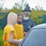 В Кохме прошла информационно-разъяснительная акция «Безопасные дороги»