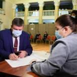 Глава городского округа Воскресенск принял участие в голосовании