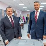 Юрий Трутнев проголосовал на выборах депутатов Государственной Думы в Чите