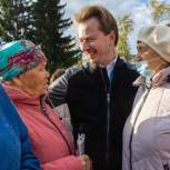 Владимир Бурматов поблагодарил жителей Каслинского района за поддержку и доверие на прошедших выборах