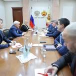 Избранные в VIII созыв Госдумы партийцы встретились с Главой Чувашии Олегом Николаевым