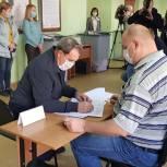 Валерий Лидин проголосовал во второй день выборов