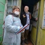 В Пронском и Ряжском районах проголосовали ветераны Великой Отечественной войны