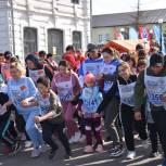 Партийцы Троицка  приняли участие  во  Всероссийском  дне бега