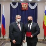 Депутат Ростовской гордумы Магомед Дарсигов получил государственную награду