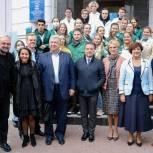 Денис Проценко встретился с руководителями медучреждений региона