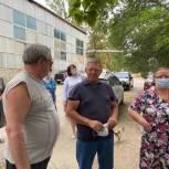 Жители рассказали Николаю Панкову о проблемах микрорайона Карьер МВД города Пугачева