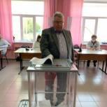 Сергей Якушев проголосовал на выборах депутатов Государственной Думы