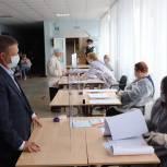 Николай Панков проголосовал за стабильное и благополучное будущее нашей области и страны