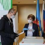 Губернатор Чукотки Роман Копин принял участие в выборах