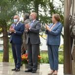 В честь коллектива Боровской птицефабрики установили памятник
