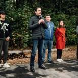 В деревне Медвежьи Озёра Щелковского округа открылся скейт-парк