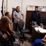 Александр Климов провел отчетную встречу с трудовым коллективом кузнецкого городского парка