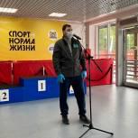 Николай Ташланов поздравил юных участников «Кросса Нации – 2021»