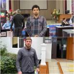 Дагестанские спортсмены проголосовали на избирательных участках