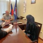 Депутат Магомед Шабанов провел прием граждан в приемной «Единой России»