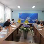 Социальные вопросы обсудили в региональном штабе общественной поддержки