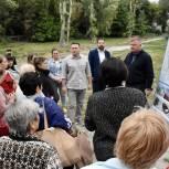 Новые дороги, скверы, детский сад: жителям «Пролетарки» и «Лопатиной горы» презентовали предпроект благоустройства микрорайонов