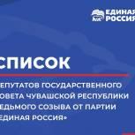Представители «Единой России» получили 30 из 44 мандатов Государственного Совета Чувашии седьмого созыва