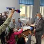В третий день выборов международные наблюдатели посетили участки в Большой Ялте