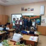 Олимпиец Сергей Улегин поздравил коллектив Лицея с Днем Знаний