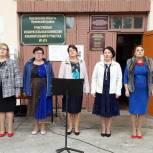 Праздничное настроение на избирательных участках в районах Пензенской области создают творческие коллективы